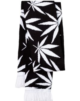 "Jacquard Strickschal HD ""Cannabis"""