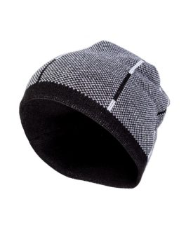 "Strick Beanie ""Black & White Grafik"""