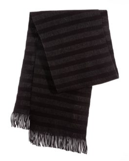 "Schal ""Strickschal Dark Stripes"""