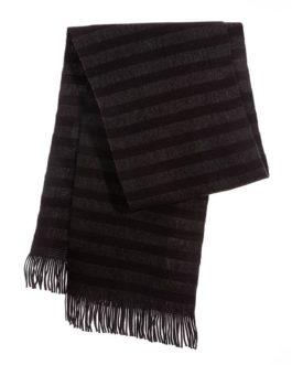 """Schal """"Strickschal Dark Stripes"""""""