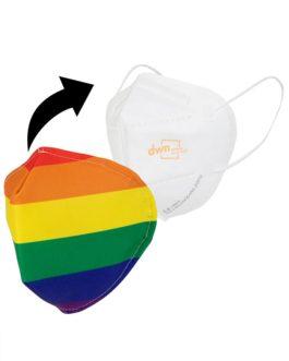 "Maske ""Cover Rainbow"""